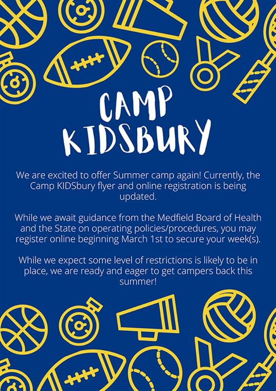 Camp Kidsbury 2021