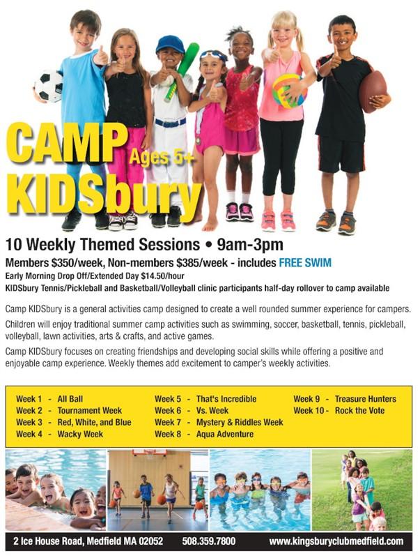 Camp Kidsburyflyer